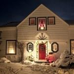 Christmas House — Stock Photo #4097546