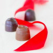 Valentine Chocolates — Stock Photo
