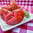Stock Photo: Grungy Lobster