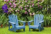Gartenstühle — Stockfoto