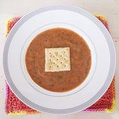 Homemade Tomato Soup — Stock Photo