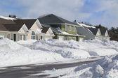 Winter Neighborhood — Stock Photo
