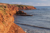 Prince Edward Island Cliffs — Stockfoto