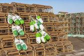 PEI Lobster Traps — Stock Photo