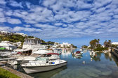 Bermuda Marina — Stock Photo