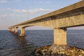 The Confederation Bridge — Stock Photo