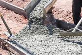 Sidewalk Construction — Stock Photo