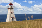 Cape Tryon Lighthouse — Stock Photo