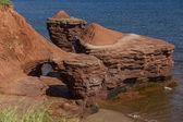 Prince Edward Island Rock Formations — Stock Photo