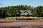 Seaside Cottage — Zdjęcie stockowe