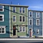Houses in St. John's, Newfoundland — Stock Photo #9555470