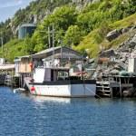 Newfoundland Fishing Boats — Stock Photo #9890561