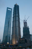 Shanghai Pudong developing — Stock Photo