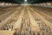 Terracotta army — Stock Photo