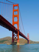 Puente del golden gate de san francisco — Foto de Stock