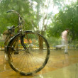 Heavy rain in New Delhi — Stock Photo