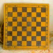 Old checkerboard — Stock Photo