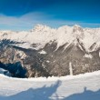 Sella Nevea Panorama — Stock Photo