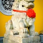 Stone lion — Stock Photo
