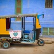 Stock Photo: Moto rickshaw