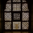 Stock Photo: Carved window silhouette