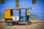 Moto rickshaw — Stock Photo