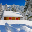 Colorful Chalet — Stock Photo