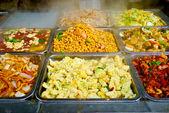 Chinese food buffet — Stock Photo