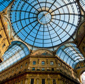 Galleria Vittorio Emanuele — Stock Photo