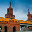 Oberbaum Bridge — Stock Photo