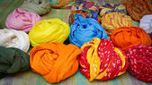 Colorful Turbans — Stock Photo