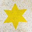 Mosaic Star — Stock Photo