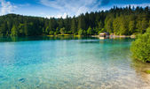 Fusine Lower Lake — Stock Photo