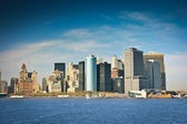Distrito financiero de nueva york — Foto de Stock