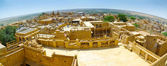Jaisalmer Fish-eye Panorama — Stock Photo