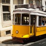 Lisbon Tram — Stock Photo #22064145