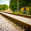Rail Tracks — Stock Photo