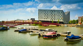 Amsterdam Eastern Docklands — Stock Photo