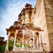 Chhatri of Kirat Singh Soda — Stock Photo