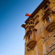 Stock Photo: Jaisalmer Balconies