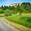 Stock Photo: Road to Arcano Castle