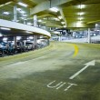Stock Photo: Indoor Car Park
