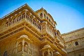 Pałac królewski w jaisalmer — Zdjęcie stockowe