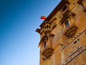Jaisalmer Balconies — Stock Photo