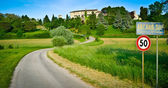 Road to Arcano Castle — Stock Photo