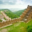 Stock Photo: Kumbhalgarh Fort View