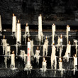 Burning candles - Foto Stock