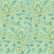 Paisley seamless background — Stockvectorbeeld