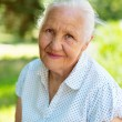 Nice elderly woman — Stock Photo