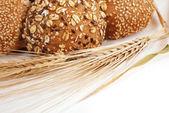 全麦面包 — 图库照片